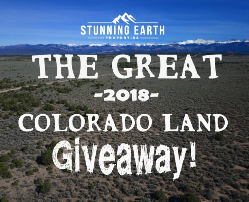 2018 Colorado Land Giveaway